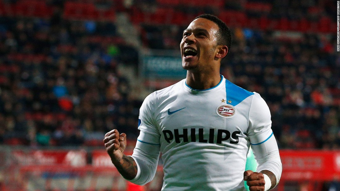 Elsewhere in Holland, Memphis Depay scored a stunning free kick in his last home game for PSV before his move to Manchester United.