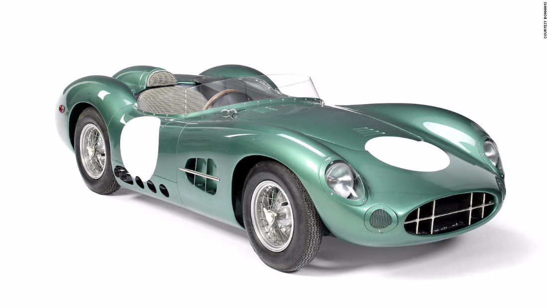 This meticulous reproduction of one of the most beautiful racing cars ever made, the DBR1, is chassis number 006 of a run of just 10. The Argentinian-made child's car has an electric motor with rechargeable battery and a length of just over 2 meters. Due to its rarity and condition it could go for as much as $23,000.