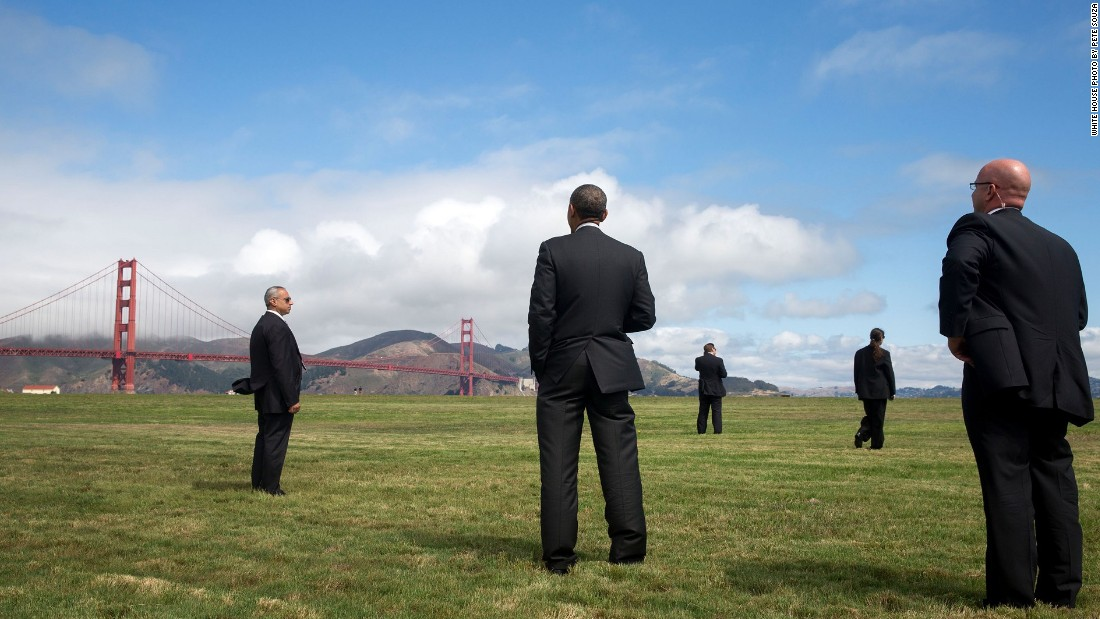 Viewing the Golden Gate Bridge in San Francisco, California, on July 23, 2014.
