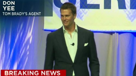 Tom Brady's agent: He will eventuallly address this