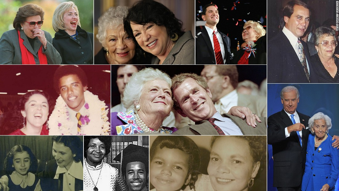 Whether they have passed away or are still with us today, these mothers have helped shape some of the most influential people of our time.