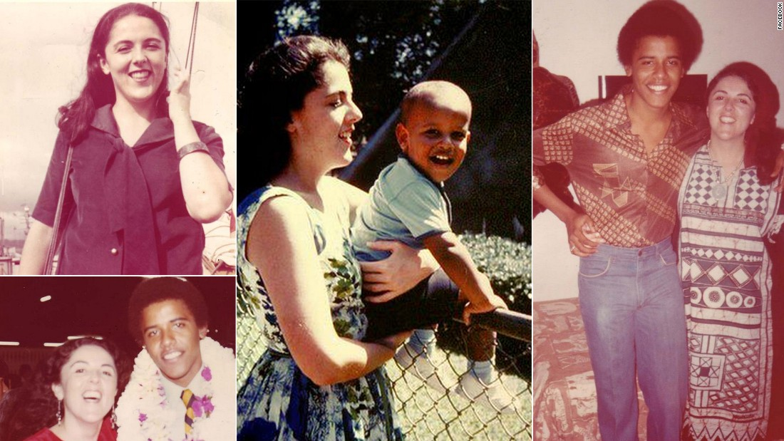 "President Barack Obama's mother, Ann Dunham, passed away on November 7, 1995. In a <a href=""https://www.youtube.com/watch?v=lthyX-gScbY"" target=""_blank"">tribute</a> to his mother, he said ""Had I known she would not survive her illness, I might have written a different book,"" referencing ""Dreams from My Father,"" his 1995 autobiography. ""Less a meditation on the absent parent, more a celebration of the one who was the single constant in my life."""