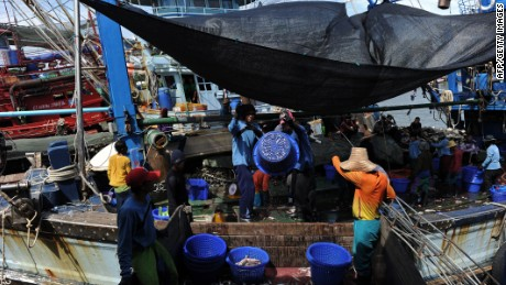 Abuse of migrant workers 'rampant' in Thai fishing fleets, rights group says