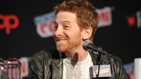 """Weren't we just watching a seemingly high-school aged Seth Green in """"Buffy the Vampire Slayer""""? Or a little Seth Green in """"Radio Days""""? And now he's 41."""