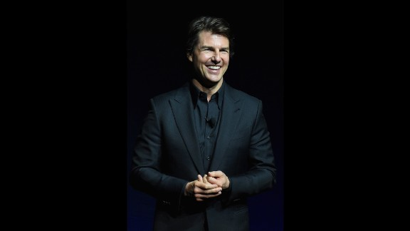 """It seems like only yesterday Tom Cruise was sliding across the living room floor in his underwear and socks in """"Risky Business."""" That was some time ago, though. He's now 53."""