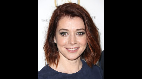 """Another """"Buffy the Vampire Slayer"""" alum, Alyson Hannigan, plays younger than she is. Hannigan is 41."""