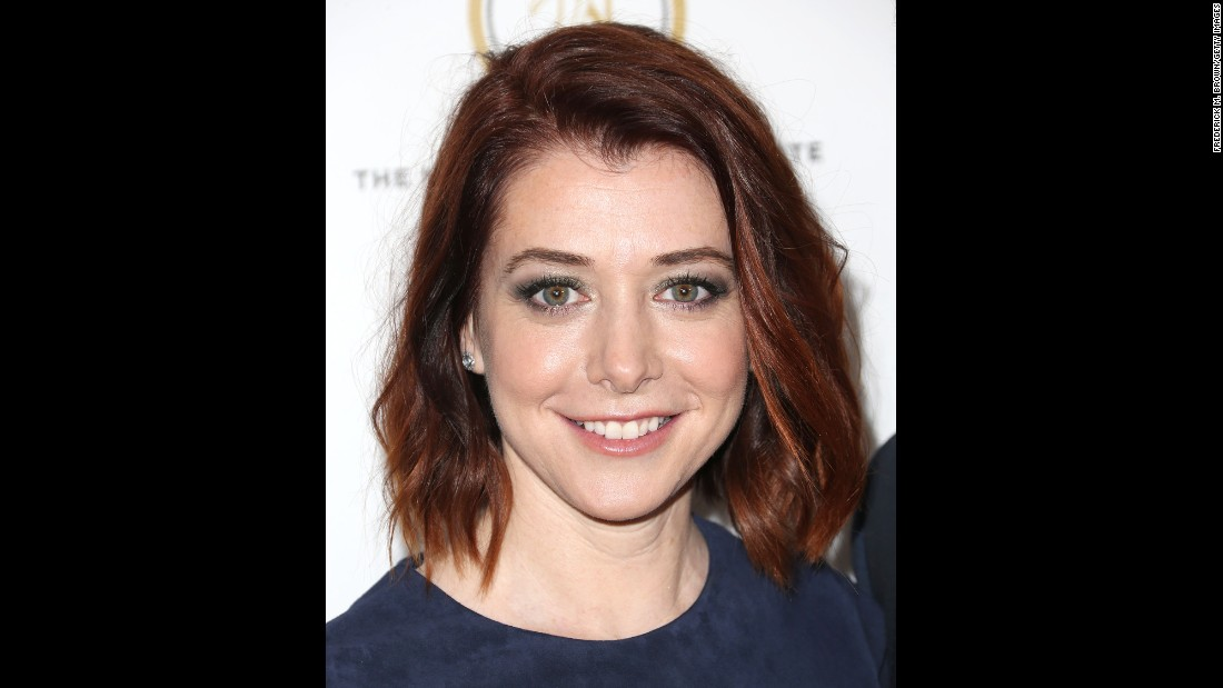 "Another ""Buffy the Vampire Slayer"" alum, Alyson Hannigan, plays younger than she is. Hannigan is 41."