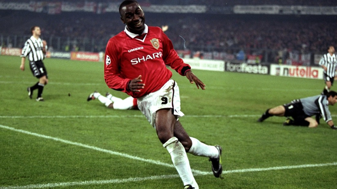 United, trailing 2-1, hit back to level before the break through Dwight Yorke to ensure it led on the away goals rule. And with just seven minutes remaining, Andy Cole pounced to fire United into its first final in 31 years, where the English club defeated Bayern Munich 2-1 deep into added time.