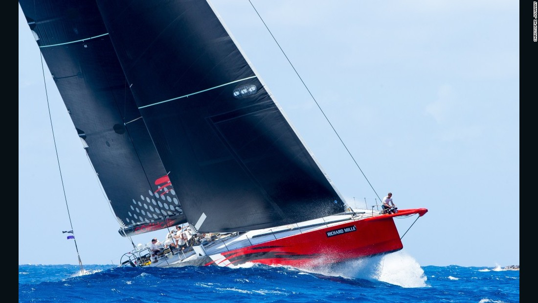 "Comanche, <a href=""/2014/10/27/sport/yacht-comanche-jim-clark/index.html"" target=""_blank"">a 100-foot Supermaxi yacht designed by Verdier and VPLP and built in Maine</a>, was designed with breaking records in mind. To the designers, speed ""is king"" for this elegant craft and the aim is simple -- to go from point A to point B very, very fast."