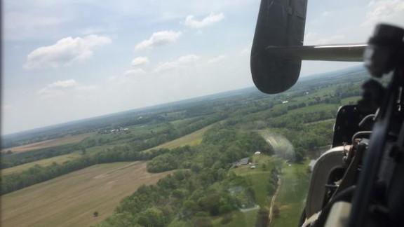 We are airborne.