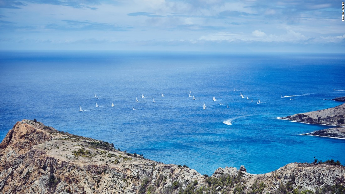 An overview of the stunning setting of one of yacht racing's most glamorous events.