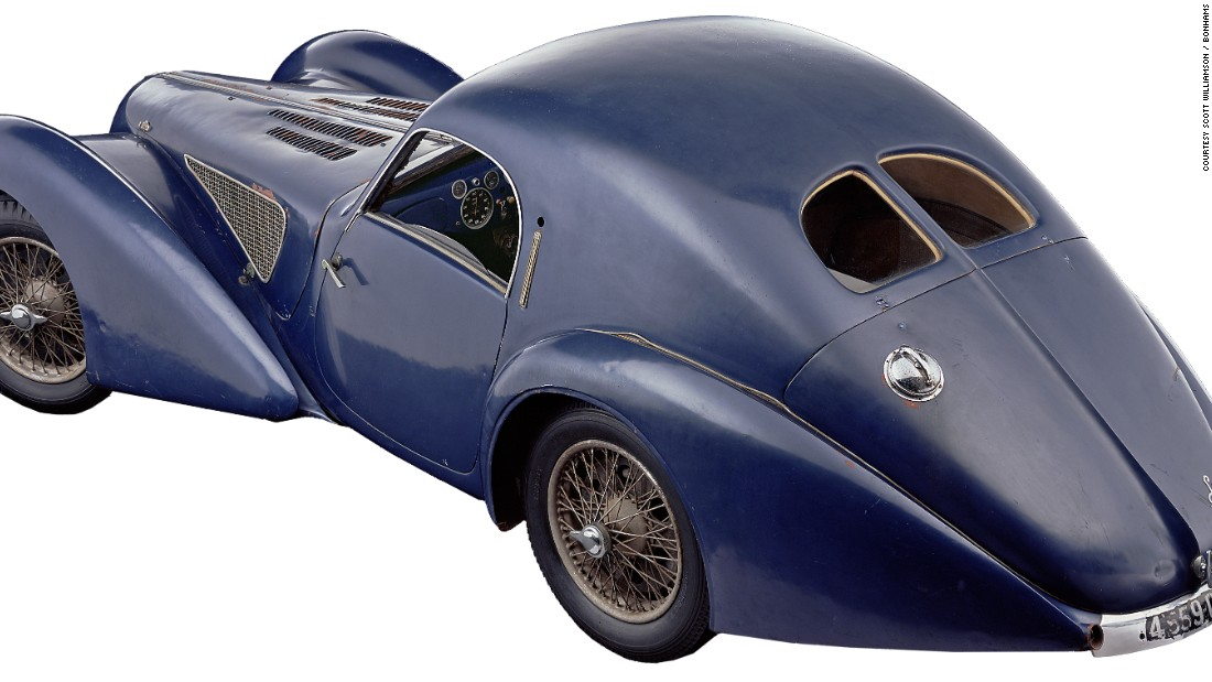 This extremely rare car is just one of three extant and the only one in original condition. It sold at Bonhams Quail Lodge Auction in Carmel, California, in August 2008 for $4,847,000 -- a new world auction record for the marque.