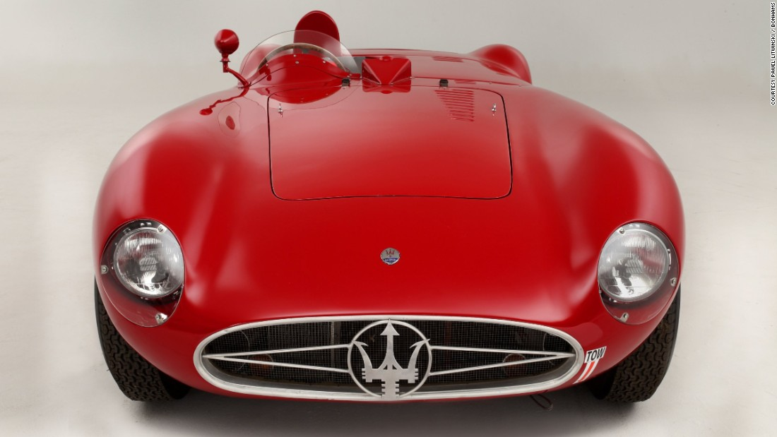 The 1955 Maserati 300 S Sports-Racing Spider was a versatile, purpose-built car that in typical Italian style oozed sex appeal.