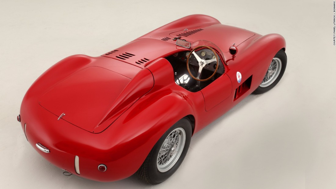This one was ordered new by renowned American race team owner Briggs Cunningham and raced at, most notably, the 12 Hours of Sebring and the United States Grand Prix.