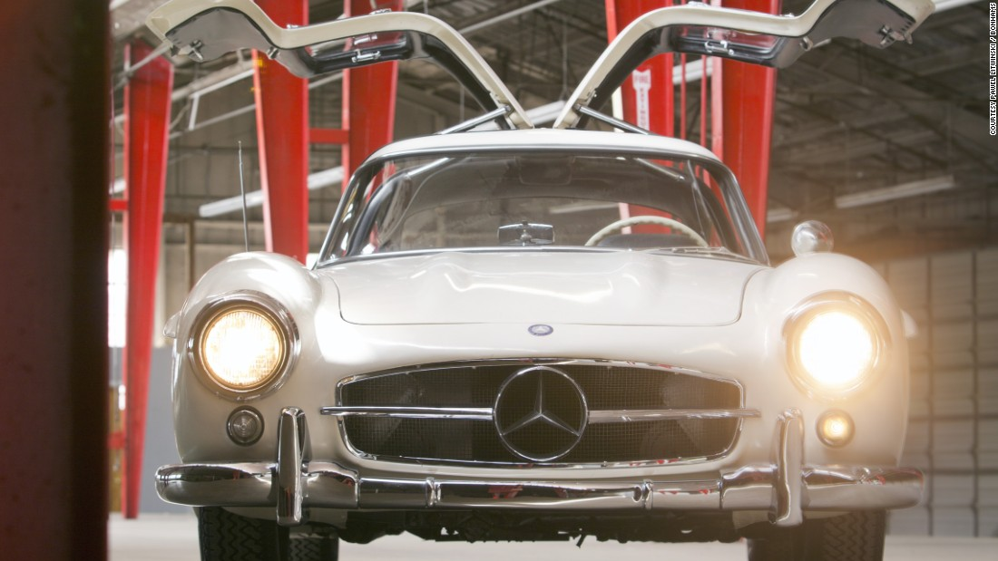 "The 1954 Mercedes-Benz 300 SL ""Gullwing"" Coupe formerly owned by entertainer Pat Boone."