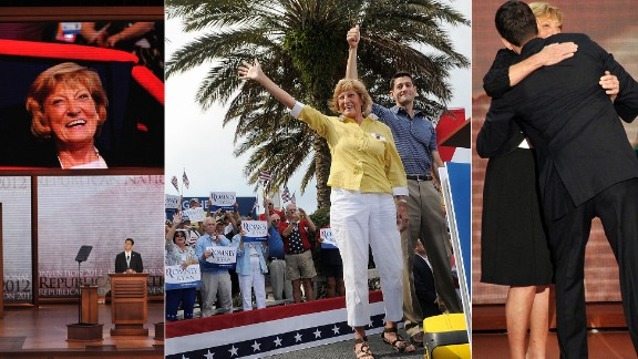 "Betty Douglas, the mother of U.S. Rep. Paul Ryan, was a familiar face on the campaign trail in 2012, when he was the GOP candidate for vice president, supporting her son each step of the way. Ryan's father died of a heart attack in 1986. Ryan said his mother gave him a ""big nudge"" to take a job in politics because ""she was worried I would become a ski bum."""