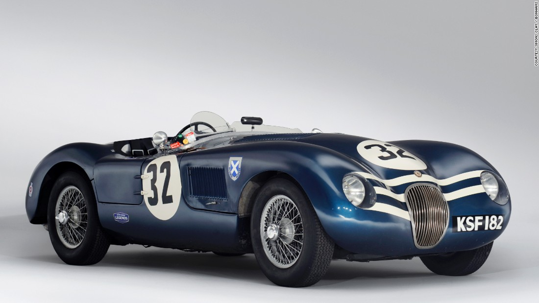 Jaguar's top-of-the-line and the model that clinched the marque's first victory at Le Man, this 1952 Jaguar C-Type was part the of the legendary Ecurie Ecosse -- the team of Scottish underdogs that became the winning pride of Great Britain.