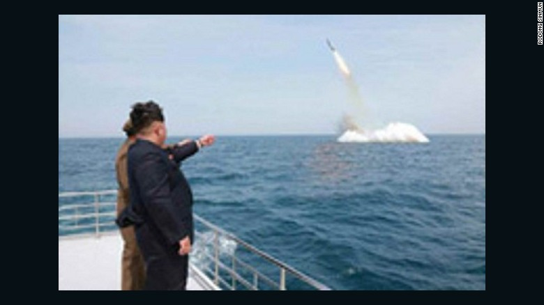 North Korea searching for missing submarine