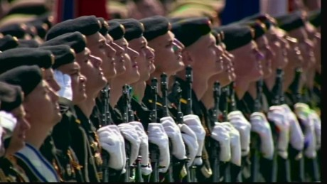 Russia's Victory Day showcases military might