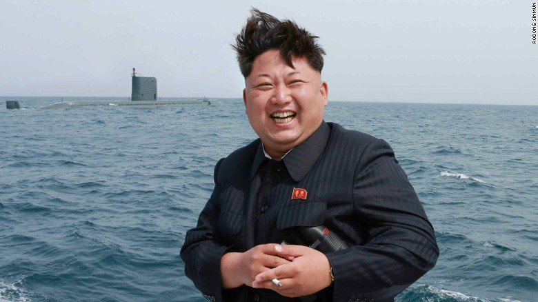 Report: N. Korea tests missile from submarine