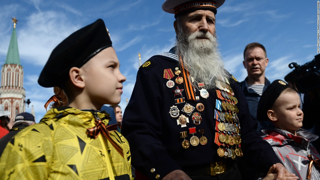 Russia marks 70 years since victory over Nazi Germany - CNN