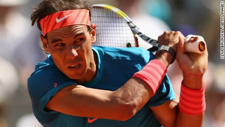 Rafael Nadal is seeking to win the Madrid title for the third year in a row.