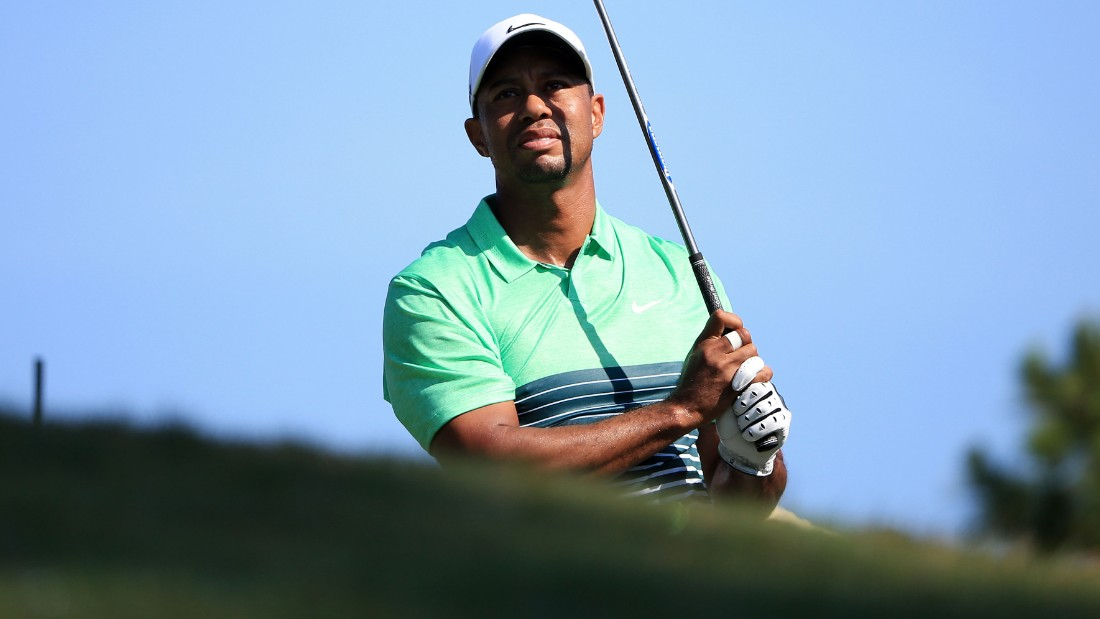 Woods did regain some composure, carding a birdie at the par-five 11th and not dropping a shot for the rest of his round.
