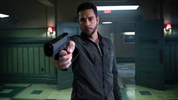 "Zachary Levi joins the cast of ""Heroes"" reboot ""Heroes Reborn,"" airing Thursday nights on NBC in the fall."