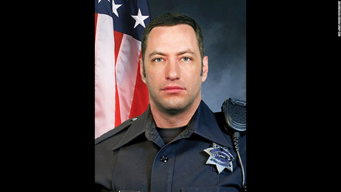 "Michael Johnson, a veteran of the police force in San Jose, California, was killed March 24 <a href=""http://www.cnn.com/2015/03/25/us/san-jose-police-officer-shot/"" target=""_blank"">while responding to a report of a man threatening to kill himself.</a> When officers arrived at the scene, they were met with gunfire. Johnson, 38, was the first San Jose police officer killed in the line of duty in 14 years."