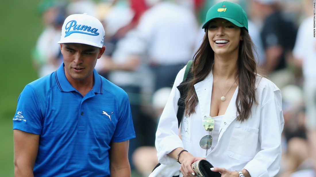 Fowler and Randock appeared together at the Par 3 event that precedes the Masters Tournament at Augusta National Golf Club earlier this year.