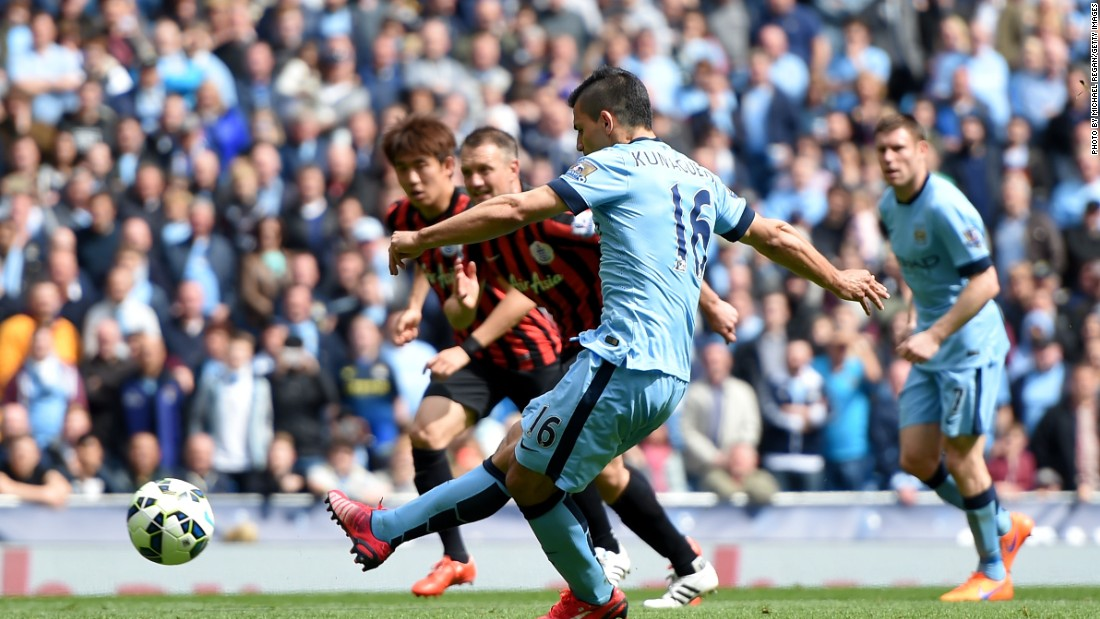 A positive for City? It still benefits from the services of Sergio Aguero, last season's top scorer.