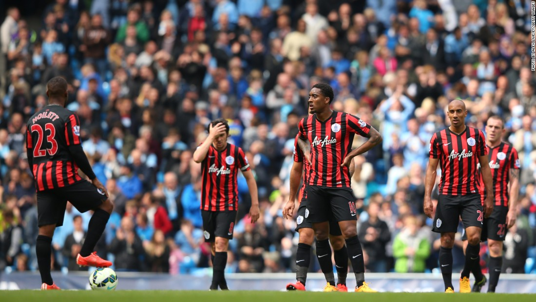 Another abject performance from QPR saw them slump to their 15th away defeat of the campaign. Earlier in the season, QPR went on an 11-game losing streak away from home, a Premier League record.