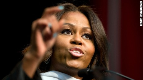 First lady 'knocked back' by race perceptions