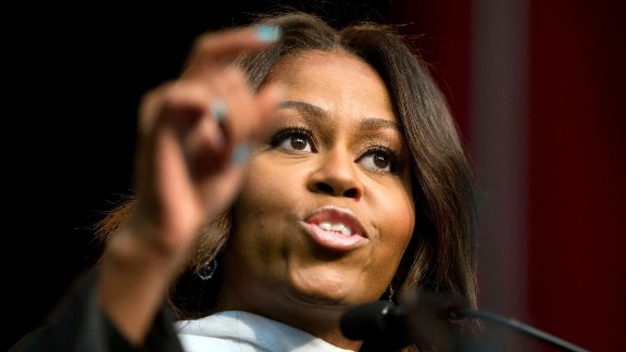 First lady Michelle Obama delivered the commencement address at Tuskegee University on May 9. She'll also speak at Oberlin College in Ohio on May 25.