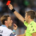 Lazio Inter Milan red card