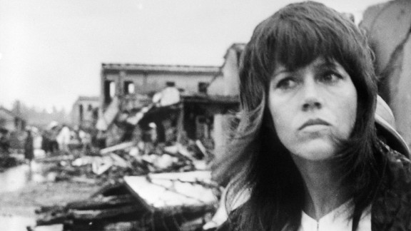 """In July 1972, in the midst of the Vietnam War, actress Jane Fonda visited the North Vietnamese city of Hanoi and criticized the U.S. role in the war, leading many to call her """"anti-American."""" Earlier this year, Fonda called the trip an """"incredible experience"""" but"""