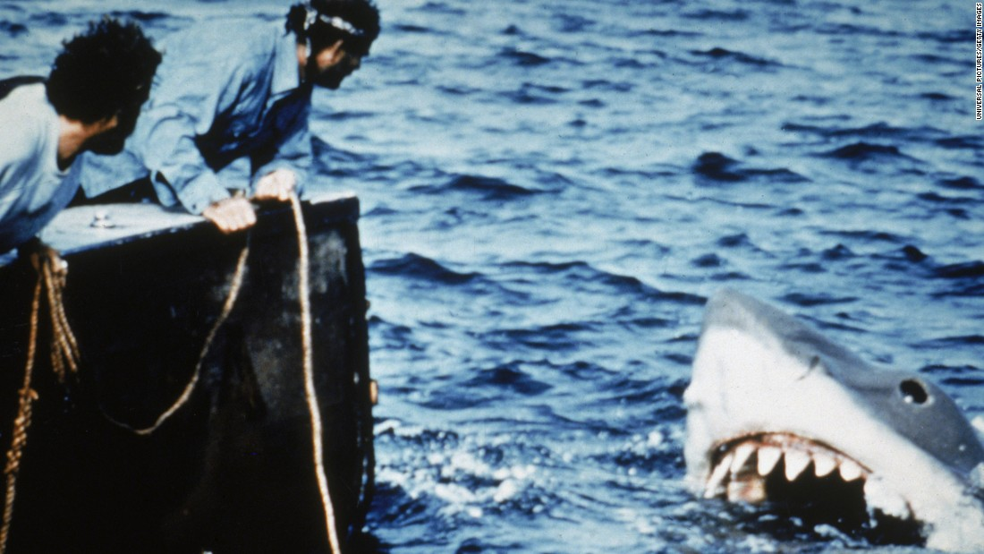 "In the summer of 1975, Steven Spielberg had people flocking to the theaters instead of the beaches. The success of ""<a href=""/2015/06/05/entertainment/jaws-movie-40th-anniversary-feat/index.html"" target=""_blank"">Jaws</a>"" -- his first hit movie -- set up summer as the season for Hollywood's biggest and highest-grossing movies."