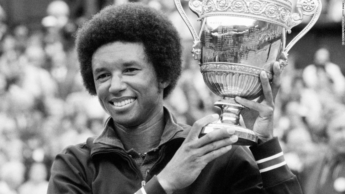 American tennis player Arthur Ashe became the first black man to win Wimbledon when he defeated Jimmy Connors in July 1975. Ashe retired from tennis in 1980 and became a spokesperson for HIV and AIDS after announcing he had contracted HIV from a blood transfusion. Ashe died on February 6, 1993, from AIDS-related pneumonia.