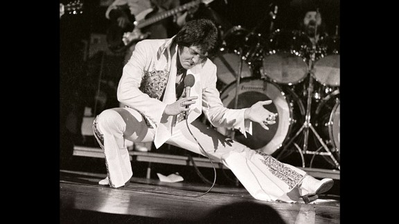 Elvis Presley, the King of Rock