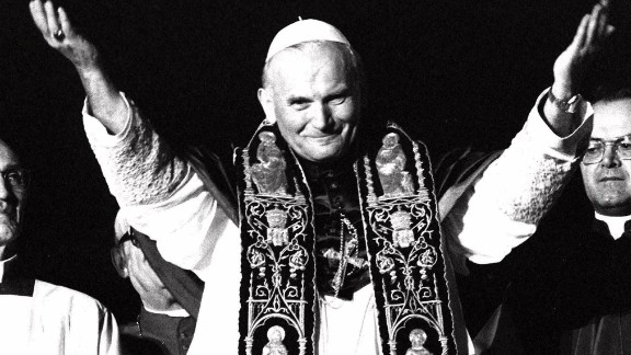 His name was Karol Jozef Wojtyla, but the world knew him as Pope John Paul II. Born in Poland, John Paul II was the first non-Italian Pope in more than in 400 years when he became Pope in 1978. He made his first public appearance on October 16, 1978, at St. Peter