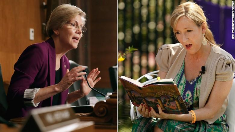 Rowling moaning myrtles name is myrtle elizabeth warren cnnpolitics m4hsunfo