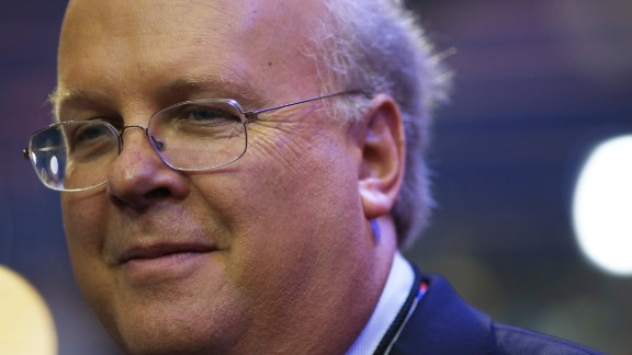 Karl Rove, former Deputy Chief of Staff and Senior Policy Advisor to US President George W. Bush, walks on the floor before the start of the second day of the Republican National Convention at the Tampa Bay Times Forum on August 28, 2012, in Tampa, Florida.