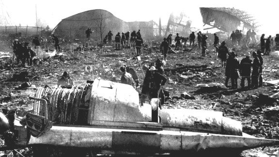 Only moments after takeoff, an engine separated from American Airlines Flight 191, causing the plane to crash in a field near Chicago
