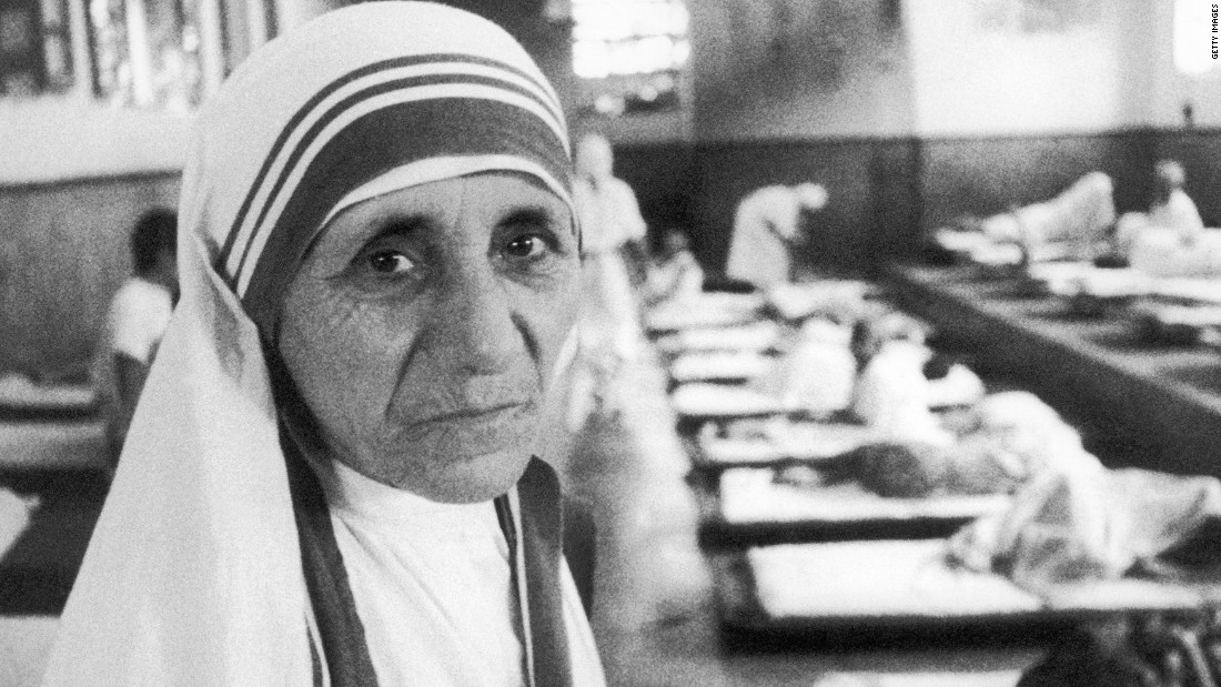 "Agnes Gonxha Bojaxhiu, or ""Mother Teresa,"" won the Nobel Peace Prize in 1979 for dedicating her life to helping the poor. Her foundation in Kolkata, India, ""The Missionaries of Charity,"" took care of orphans, the sick and elderly. In 2003, she was beatified."