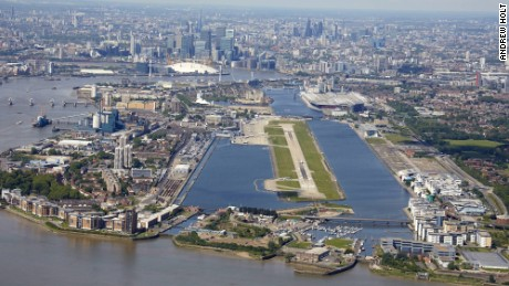 London City Airport is the closest airport to central London.