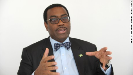 Dr. Akinwumi Adesina is Nigeria's outgoing Minister of Agriculture and Rural Development and was named Forbes' African of the Year in 2013. He has argued one focus for the AfDB should  be delivering universal access to electricity.
