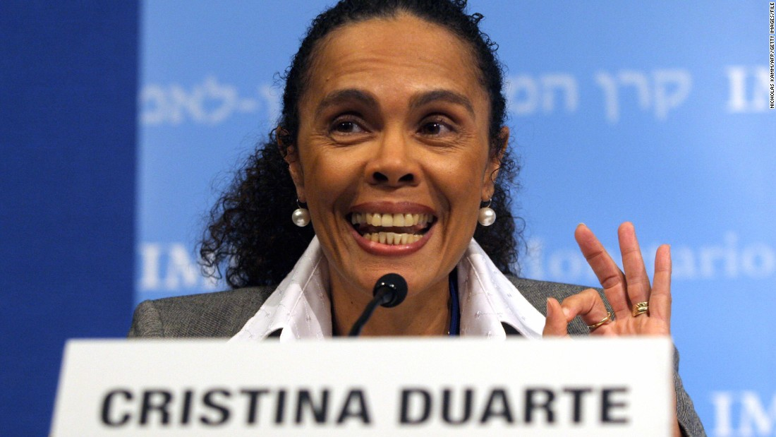 The only women in the race comes from Cape Verde. Cristina Duarte is currently minister of finance and planning and was previously vice-president and head of corporate & investment banking at Citibank in Angola.