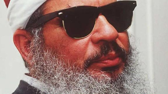 Egyptian fundamentalist Sheikh Omar Abdel Rahman