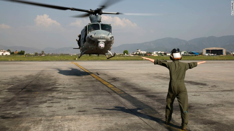 Families grieve Marines killed in Nepal crash