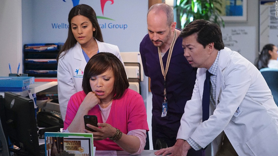 "After ""The Hangover"" and ""Community,"" Ken Jeong, right, is now starring in his own series, ABC's ""Dr. Ken."" it's something he knows a little something about, having a medical degree himself."